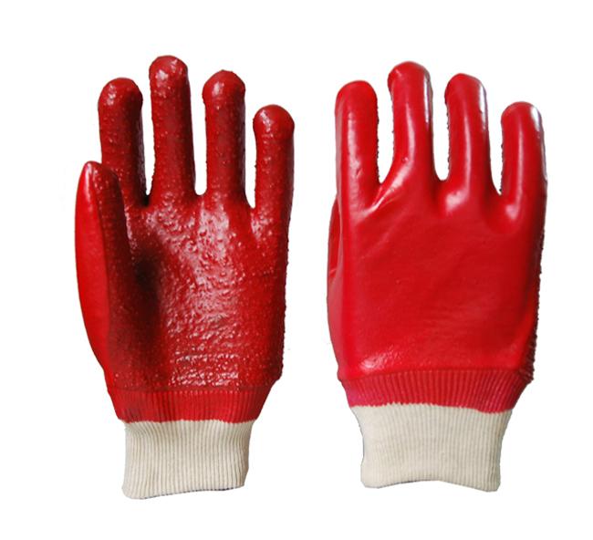 毛巾布浸胶手套