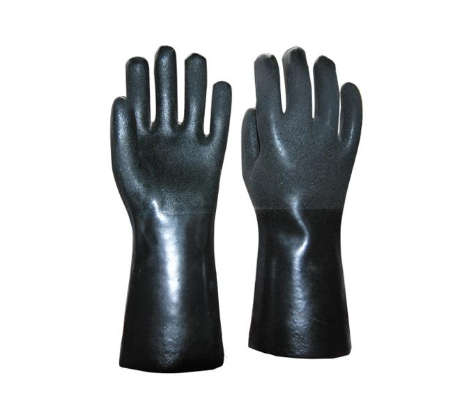 黑色喷砂手套