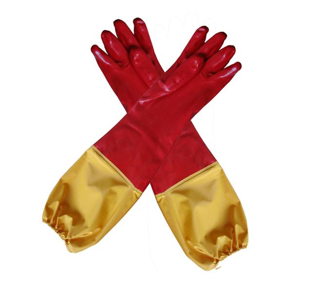雨衣接袖pvc手套