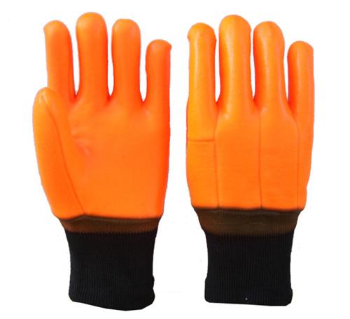 PVC保暖手套