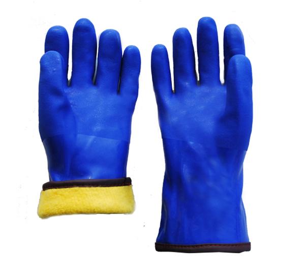 开司米拉毛防寒手套