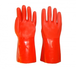 PVC防化学手套
