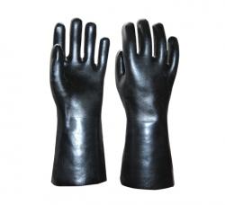 黑色平砂手套