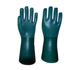 绿色喷砂手套