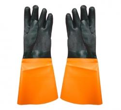 浸胶接袖手套