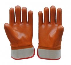 棕色保暖手套