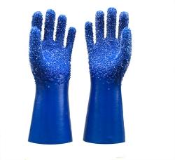 广东蓝色颗粒手套