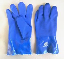 蓝色耐油手套
