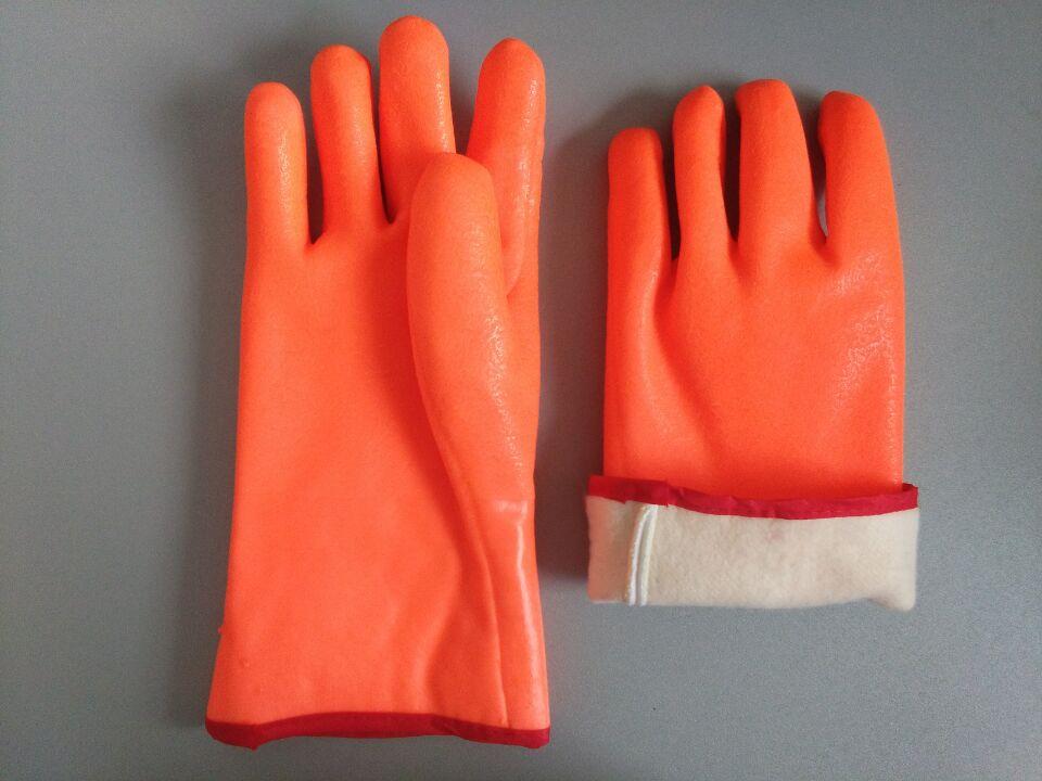 PVC防寒手套