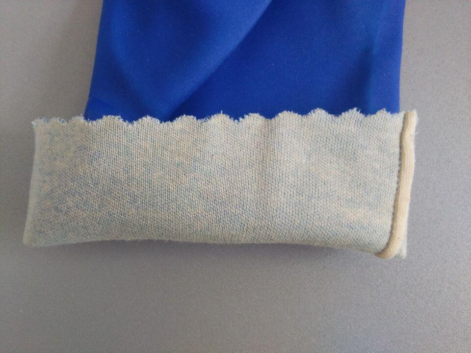 棉内衬浸胶手套